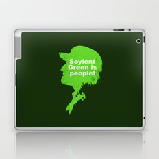 Soylent Green – Silhouette Quote Laptop & iPad Skin