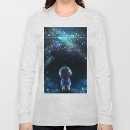 Starry (Night) Undertale Long Sleeve T-shirt