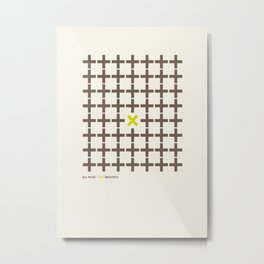 All plus - You multiply Metal Print