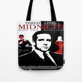 Threat Level Midnight Movie Tote Bag