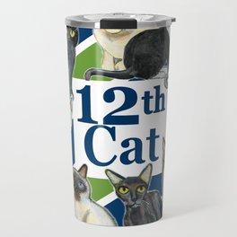 12th Cat Travel Mug