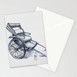rickshaw japan Stationery Cards