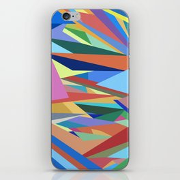 Colorful Triangle Pattern iPhone Skin