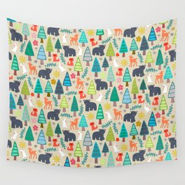 summer woodland Wall Tapestry