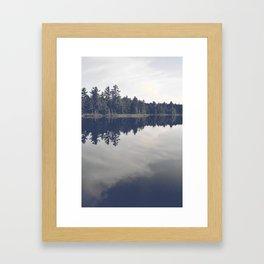 Little loch Framed Art Print