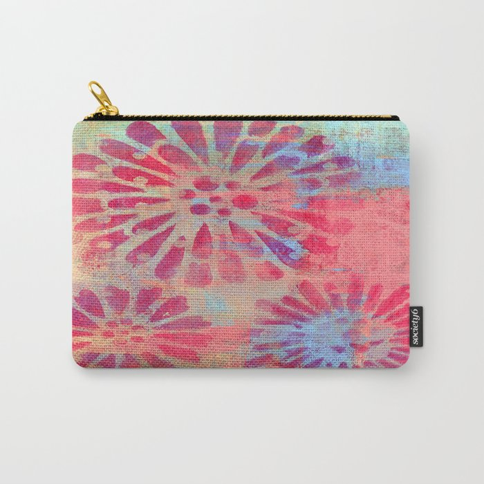 Forever Flowers Carry-All Pouch
