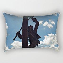 Rusty the Lineman Rectangular Pillow