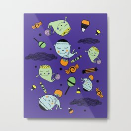 Cute Spookies Metal Print