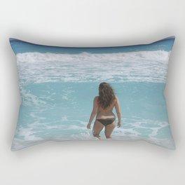 Carribean sea 1 Rectangular Pillow