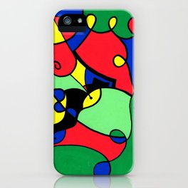 Print #11 iPhone Case