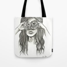 Beauty is within the eye of the beholder - By Ashley Rose Standish Tote Bag