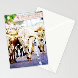 Texas Stockyards Stationery Cards