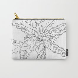 PLANT PORTRAITS - CALATHEA LANCIFOLIA - COOPER  AND COLLEEN Carry-All Pouch