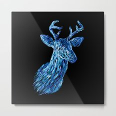 Аmazing deer head Metal Print