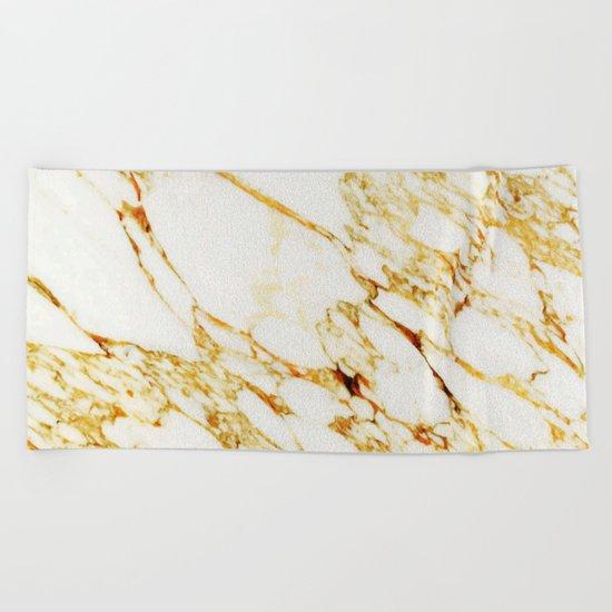 Gold Marble #society6 #decor #buyart #marble Beach Towel