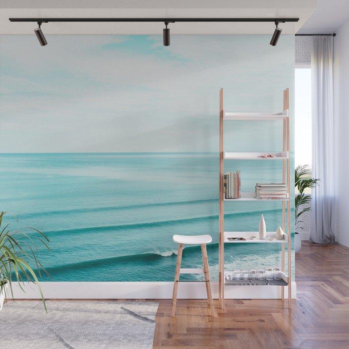Minimal Beach Wall Mural