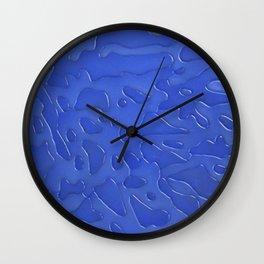 Blue 751 Wall Clock