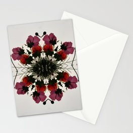 Pretty Mallows and Poppies Stationery Cards