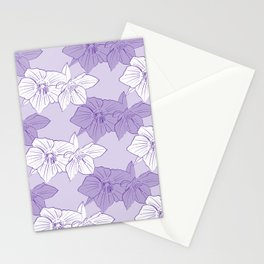 Purple Hellebores Stationery Cards