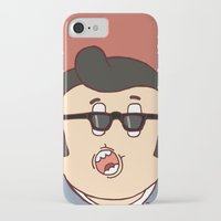rockabilly iPhone & iPod Cases featuring Rockabilly by The Bad Artist