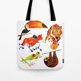 Rainforest animals 2 Tote Bag