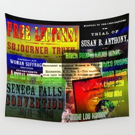 Suffragette meetings Wall Tapestry