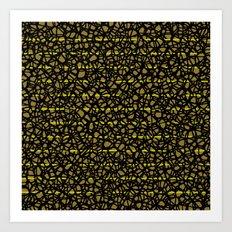 leoparda Art Print