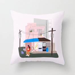 japan pt. 2 Throw Pillow