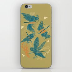 ravens comp iPhone & iPod Skin