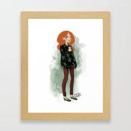 Rouxy Framed Art Print