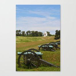 Led Into The Frey  Canvas Print