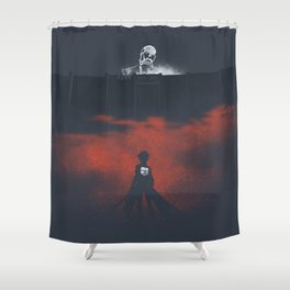 Attack On Titan Moment Shower Curtain