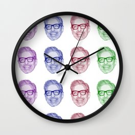 Rainbow Goldblum Wall Clock