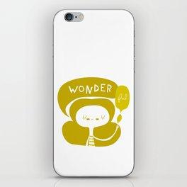 Wonder-ful iPhone Skin