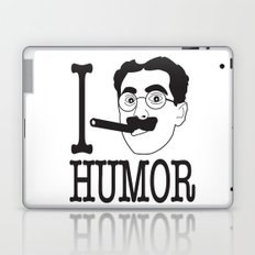 I __ Humor Laptop & iPad Skin