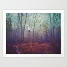 A Different Kind Of Forest Art Print
