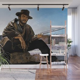 Clint - The Man With No Name Wall Mural