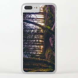 Wooded Tofino Clear iPhone Case
