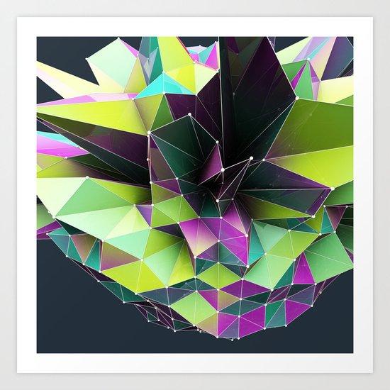 GRAPPH I Art Print
