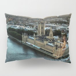 London - Palace Of Westminster Pillow Sham