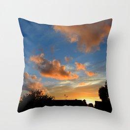 Skys Throw Pillow