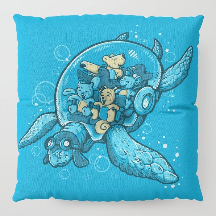 FLYING DEEP Floor Pillow