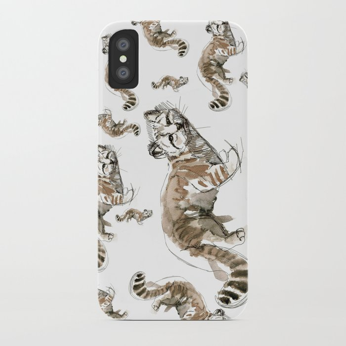Totem Andean cat (AGA) iPhone Case
