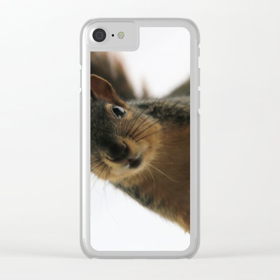 Are you cming up? Clear iPhone Case