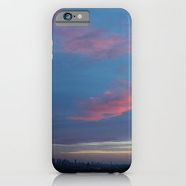 PinkSky Lines iPhone Case