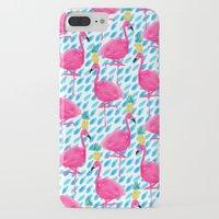 Party Flamingos Slim Case iPhone 7 Plus