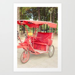 Take me out for a Ride Art Print