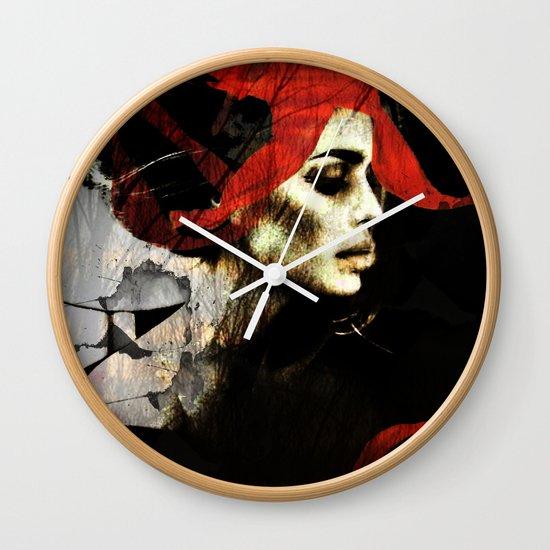 portrait of a dream Wall Clock
