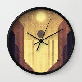 Earth - Victoria Falls Wall Clock