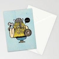 Pillage and Plunder Stationery Cards